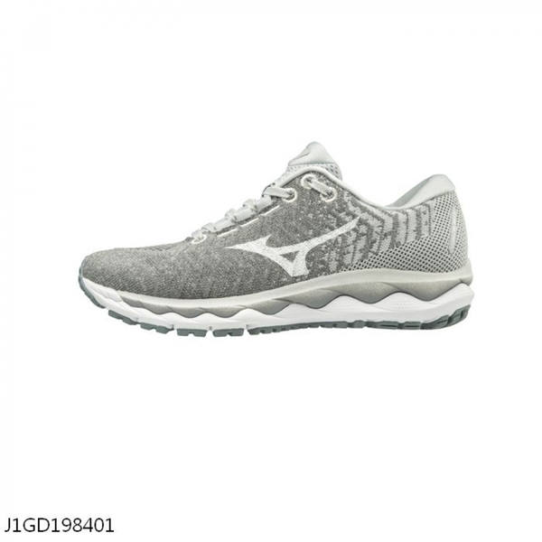 mizuno men's wave sky waveknit 3 original gray