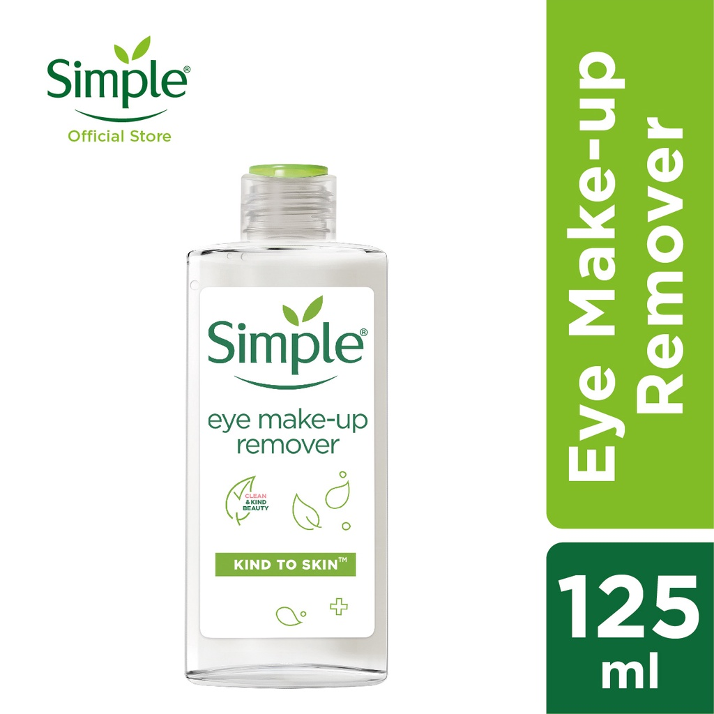 Simple Conditioning Eye Make Up Remover (125ml)