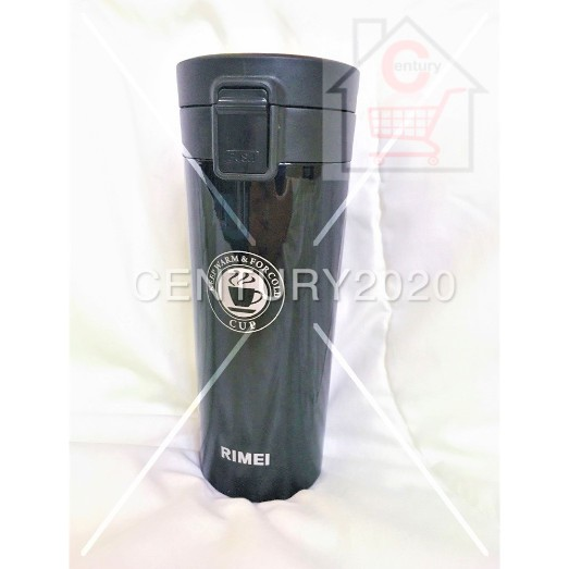 RIMEI Stainless Steel Vacuum Flasks Double Wall Leak-proof Bottle Coffee Tea Travel Mug Thermos Bottle Thermos Cup 400ML