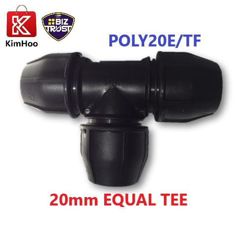 HEAVY DUTY FISH BRAND POLY EQUAL TEE 20mm, 25mm & 32mm