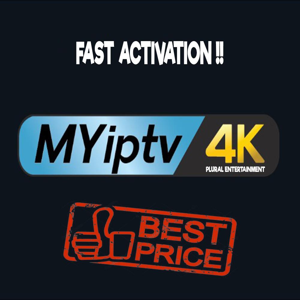 MYIPTV / MYIPTV 4K Authorized Dealer (FAST ACTIVATION!)
