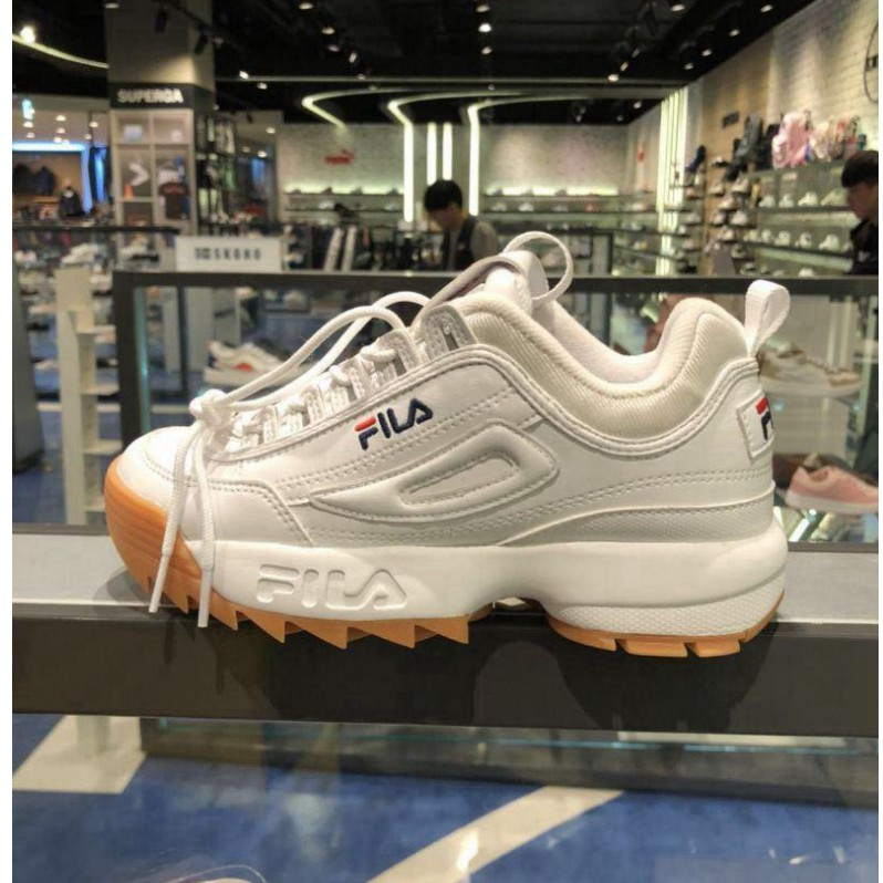 dd3202812664 FILA Disruptor 2 generations large serrated thick raised legs wild jogging  shoes