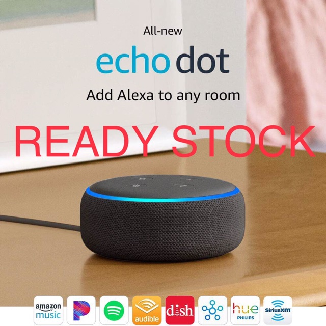 Amazon Alexa Echo Dot Generation 3 Gen 3 new