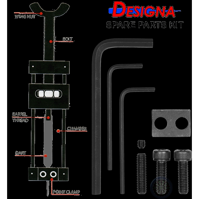 Dart Repointer Spare Parts Kit