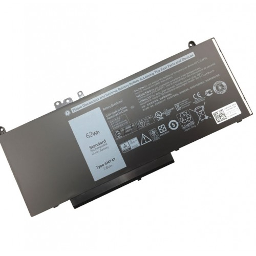 Dell Latitude E5450 / E5550 4-cell 62Wh Original Laptop Battery - R0TMP
