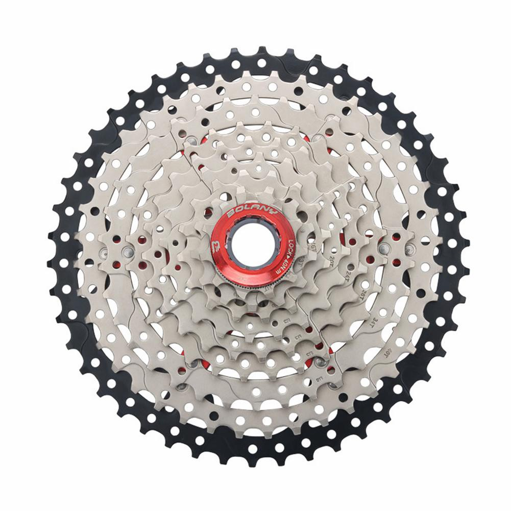 d80ab6aff5 9 Speed Wide Ratio 11-46T MTB Mountain Bike Cassette Flywheel Bicycle Parts  mk.1