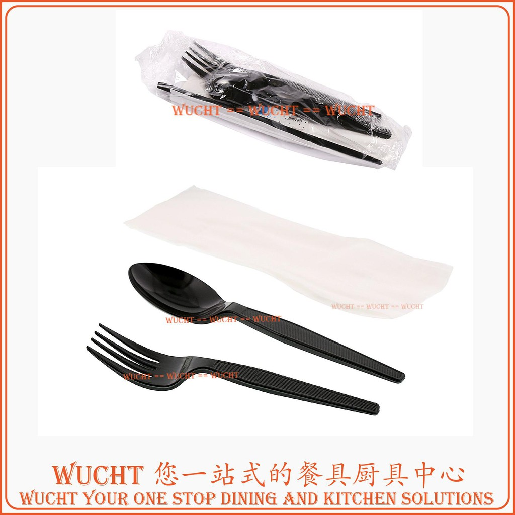 500 Plastic TEA SPOONS White Disposable Cutlery