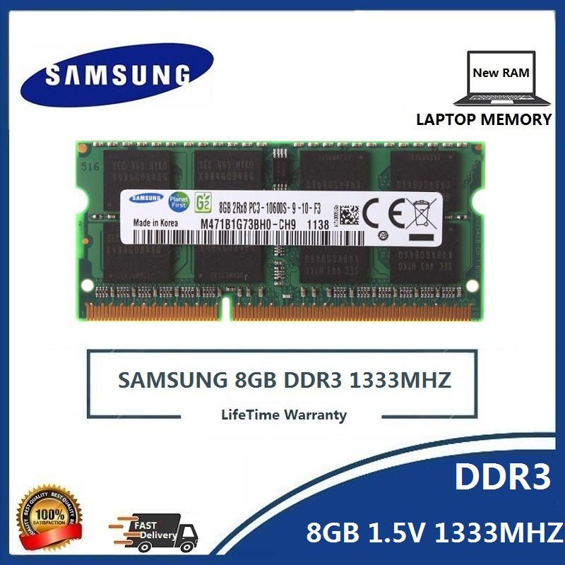NEW crucial 8GB 2X4GB PC3-10600S DDR3-1333MHZ 204pin 1.5v SO-DIMM Laptop Memory