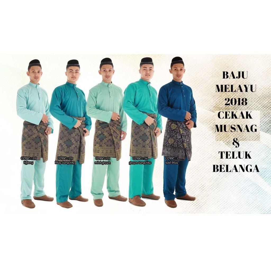 MyTrend Jubah Lelaki Hesyam - Blue  cb890eeaa3