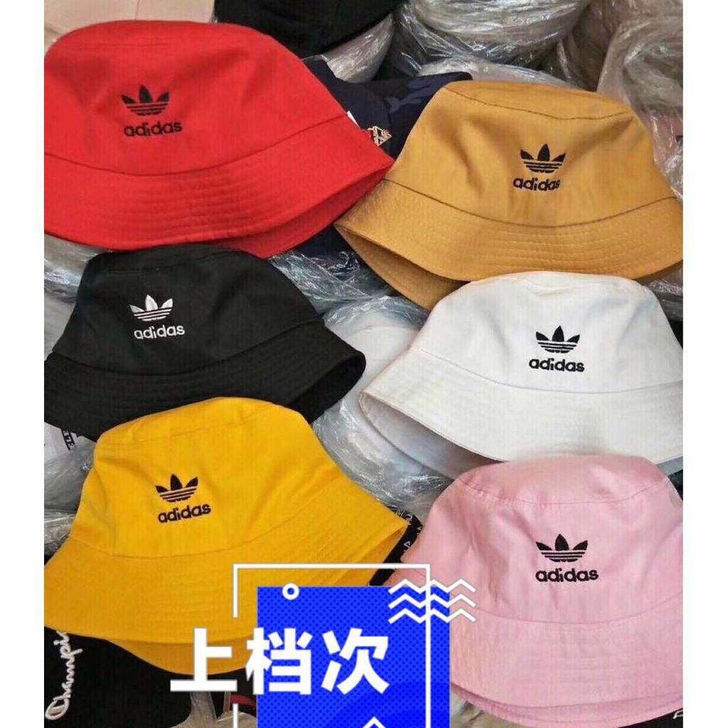 cd4fc2d00aaeb Stock! Fashion Adidas/Nike/Puma Unisex Breathable Cotton Bucket Hat ...