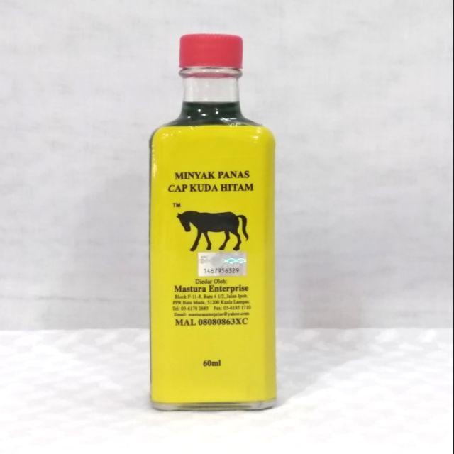 Minyak Panas Cap Kuda Hitam