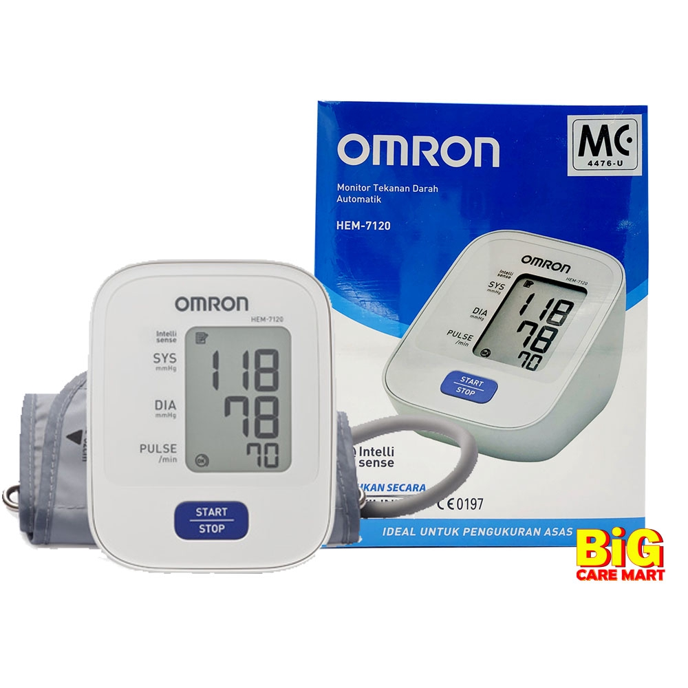Omron Automatic Blood Pressure Monitor HEM 7120 [Free Nutrition Drink]