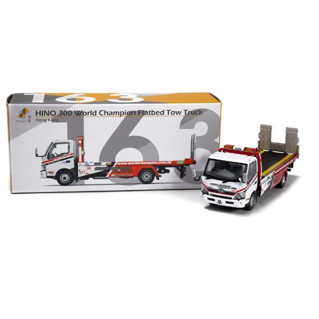 Tiny City 144 Hong Kong Isuzu N Series Tow Truck Vehicle Diecast Model