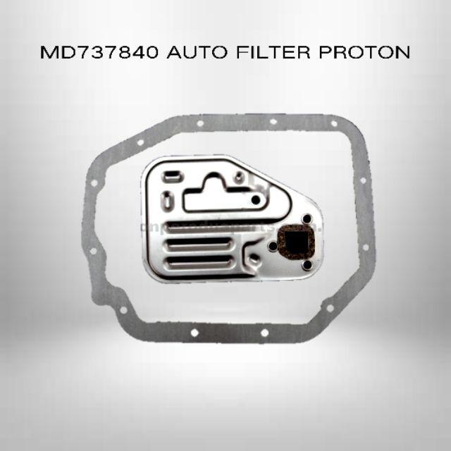 Proton OEM Auto Filter Kit ATF - Proton Wira / Satria / Saga / Iswara / Perdana 2.0 / Putra MD737840