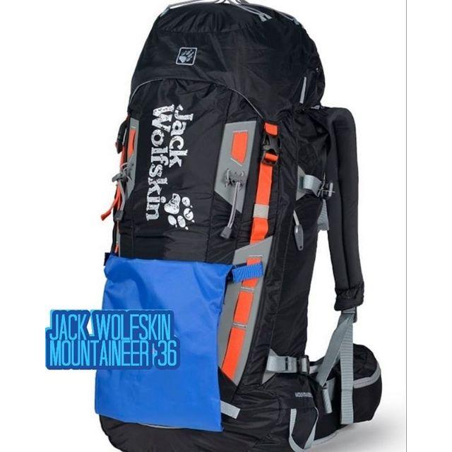 a9678ba567 Jack Wolfskin Mountaineer 36L | Shopee Malaysia