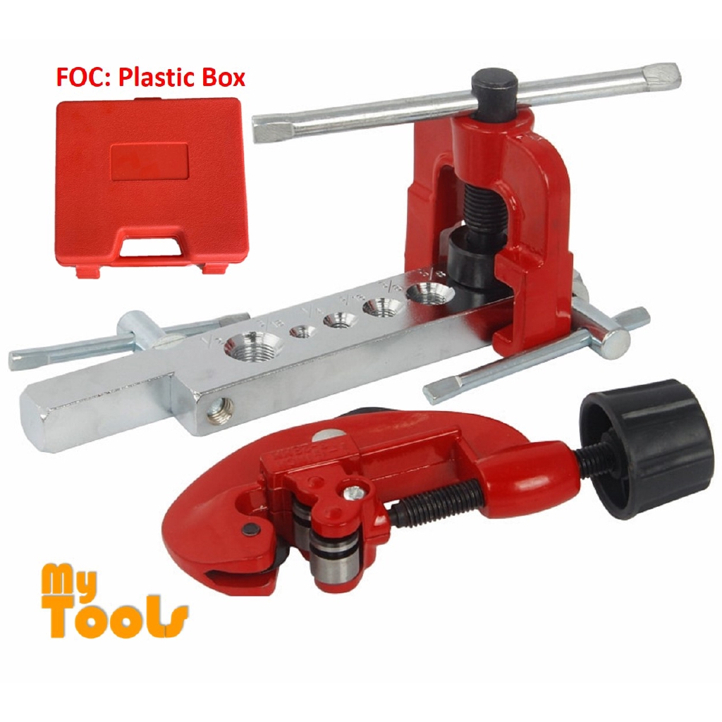 Mytools 3-28mm Copper Tube Flaring Tool Cutter Kit Manual Pipe Expander  Expansion Mouthparts Device