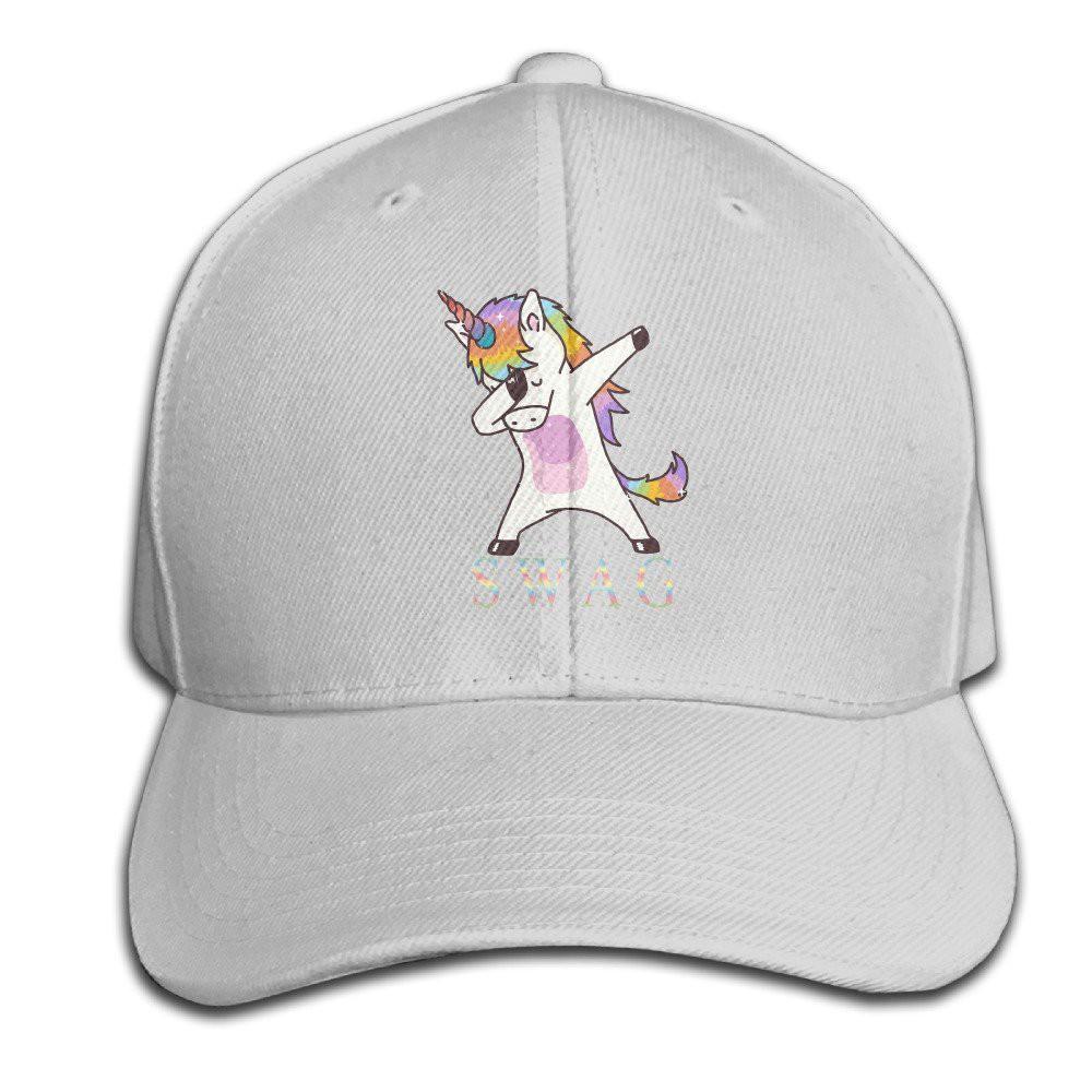 a7489b38a9eed Dabbing Unicorn Hip Hop Boys Girls Hats