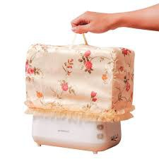 TOASTER COVER JACQUARD WITH LACE