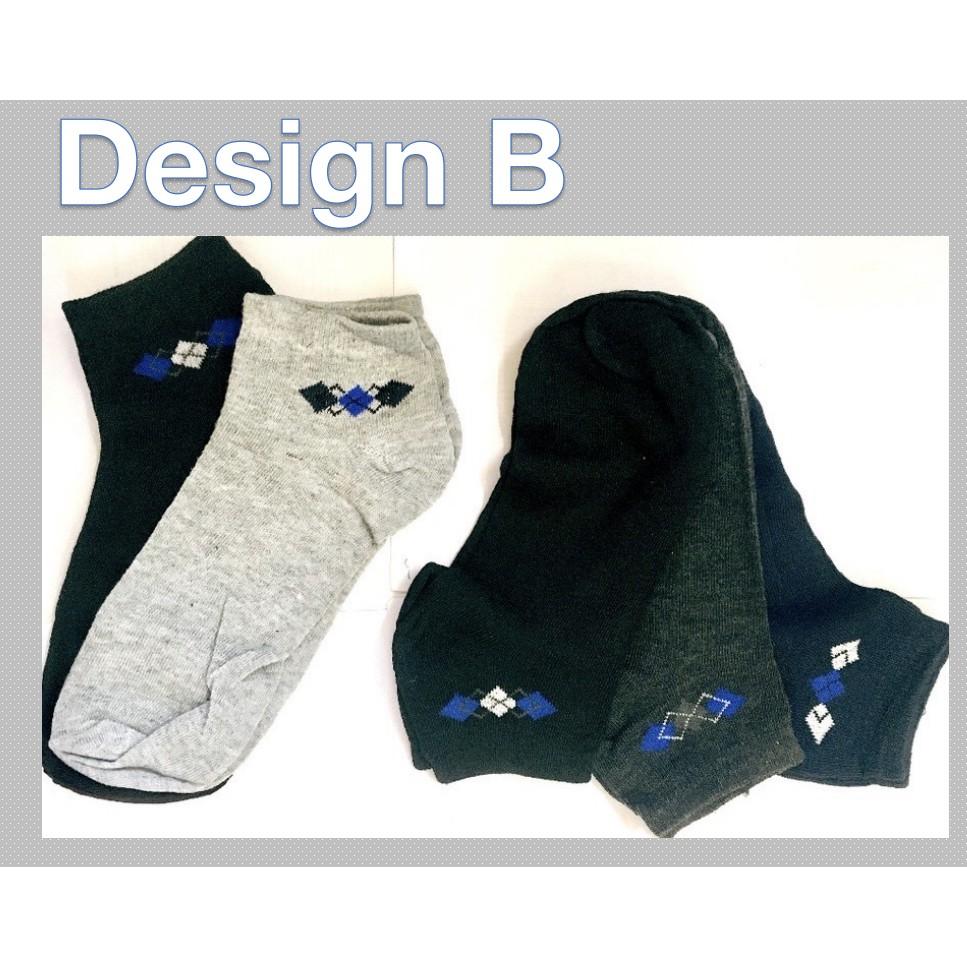 Sports Comfortable Casual Unisex Low Cut Socks Cotton Blended Thermal Anti-Bacterial Deodorants Socks