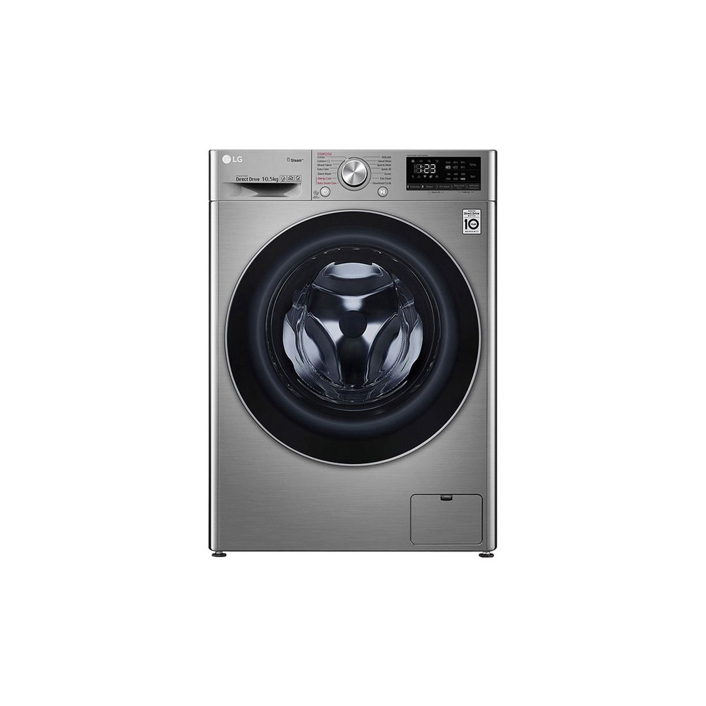 LG (Hot Selling) Front Load FV1450S4V 10.5kg Ai Direct Drive Washing Machine with Steam™ Function