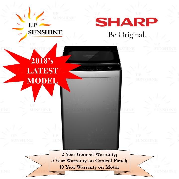 Sharp Fully Auto Washing Machine ESX858 (8kg)