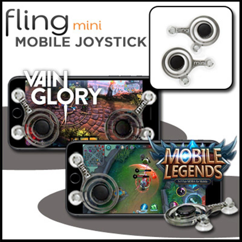 Joystick Fling Mini For Mobile Game Controller (Ready Stock) | Shopee Malaysia