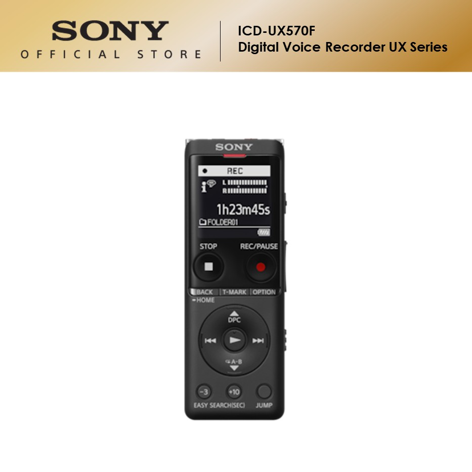 Sony ICD-UX570F Digital Voice Recorder UX Series