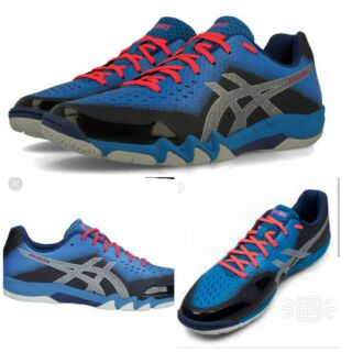 51a491f6f4556 Asics gel Blade 6 sports shoes 100% original | Shopee Malaysia