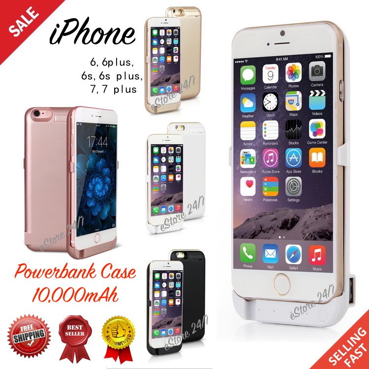 huge selection of 267ea bc6f5 🔥NEW RELEASE🔥 Powerbank Case Cover iPhone 6,6s,6 Plus,7,7 Plus Battery  Pack