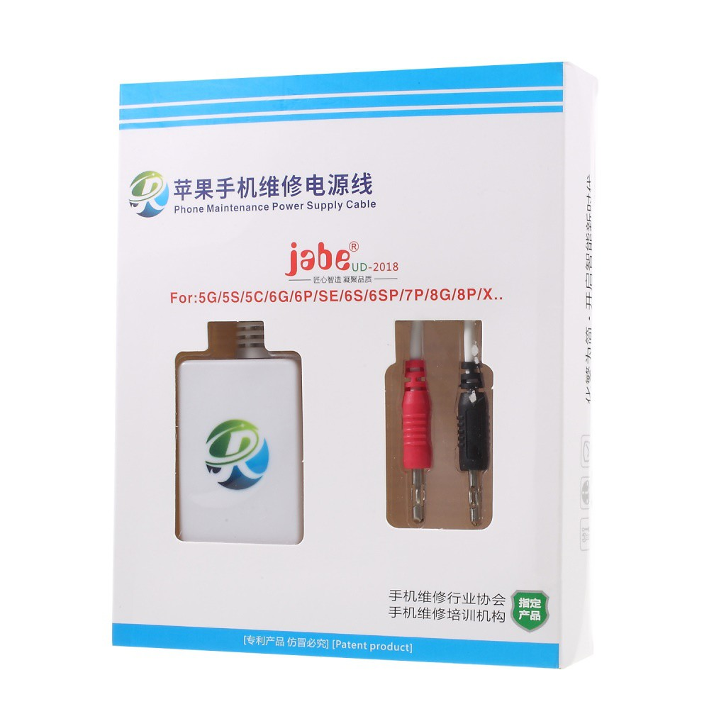 JABE UD-2018 Power Supply Cable iPhone 5S/6G/6s/6Plus/6s/6s+/7 Plus/8G/8  Plus/X