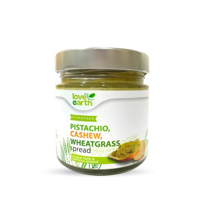 Love Earth Pistachio Cashew Spread 175g 乐儿腰豆开心果酱 175公克(罐装)