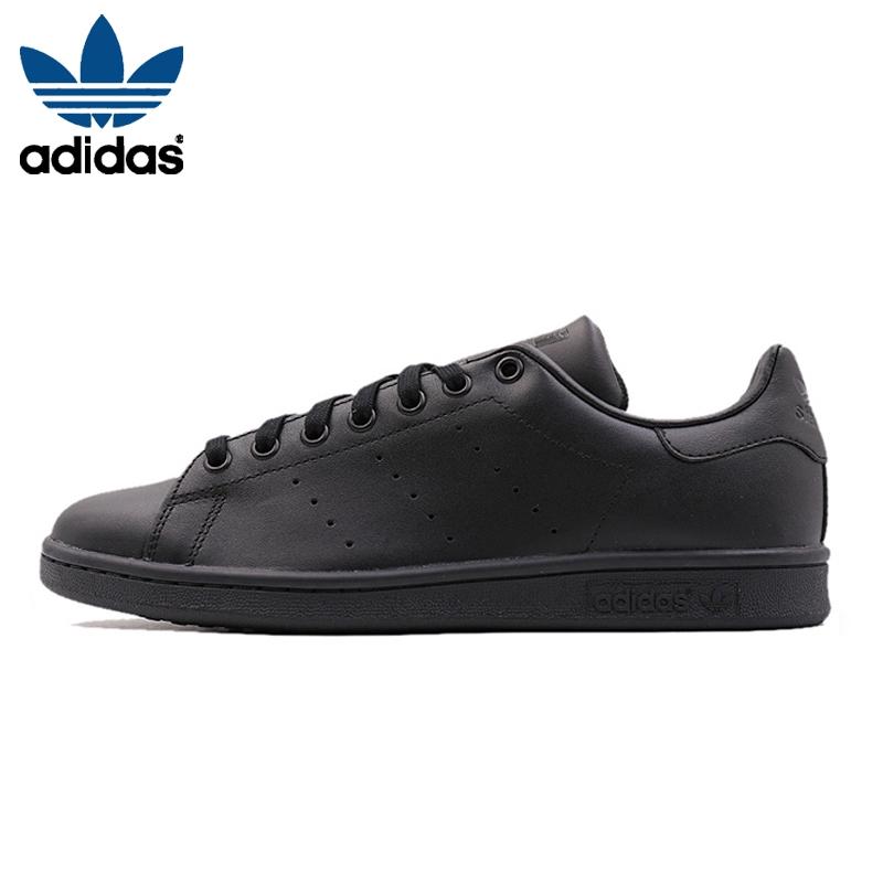 adidas black flat shoes cheap online