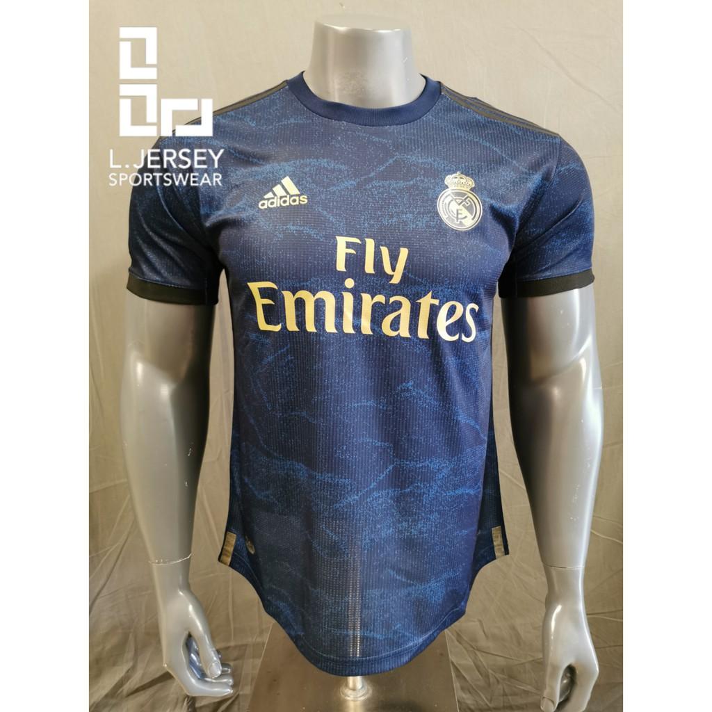 Real Madrid Men Away Season 19/20 CLIMACHILL Player Jersey
