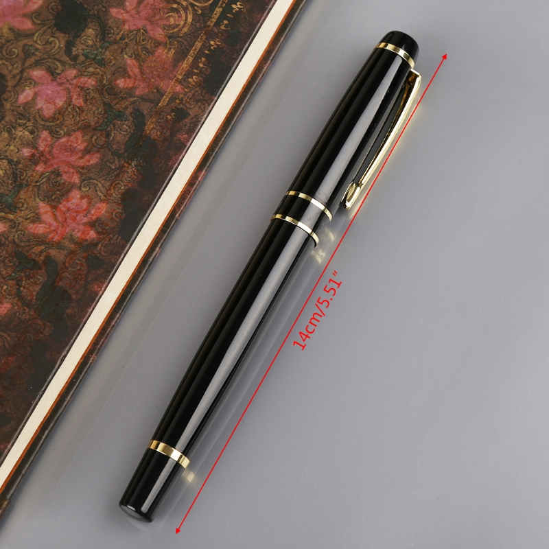 NEW hero gold and black 579 fountain pen