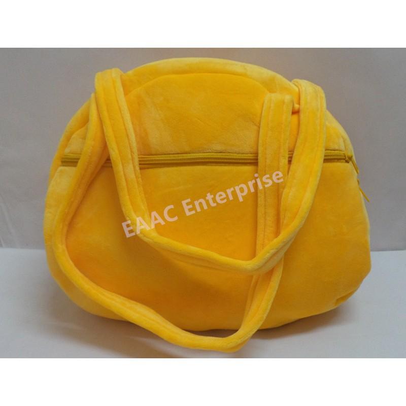 Cartoon Yellow Duck Shoulder Bag Handbag School Shopping Tuition Bag
