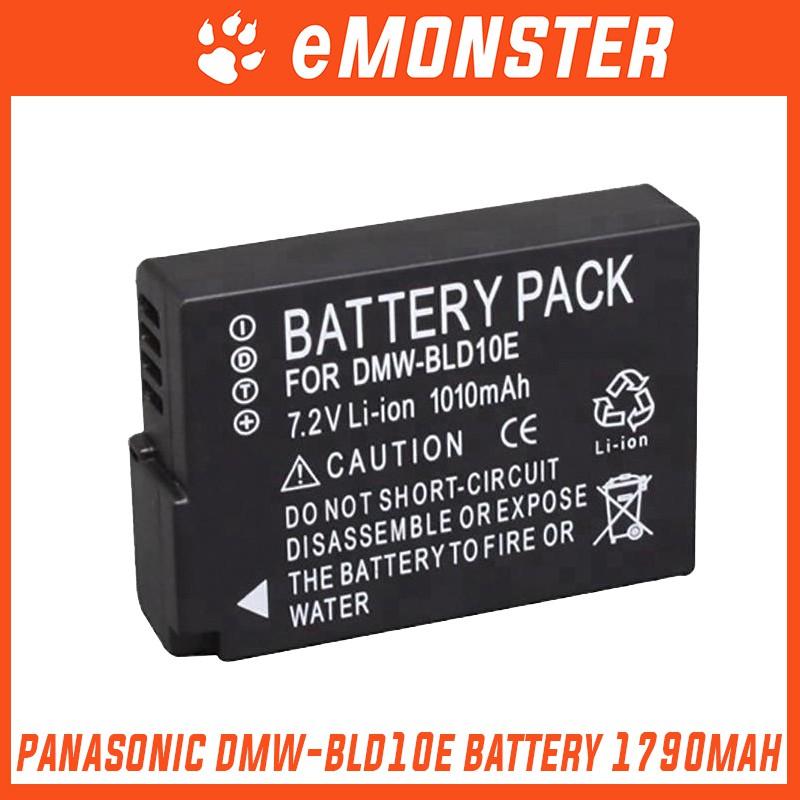 Panasonic DMW-BLD10E BLD10E DMW-BLD10 BLD10 BLD-10GK BLD10GK DMW-BLD10PP  BLD10PP DMC-GF2 GX1W GX1X GF2 Battery 1010mAh
