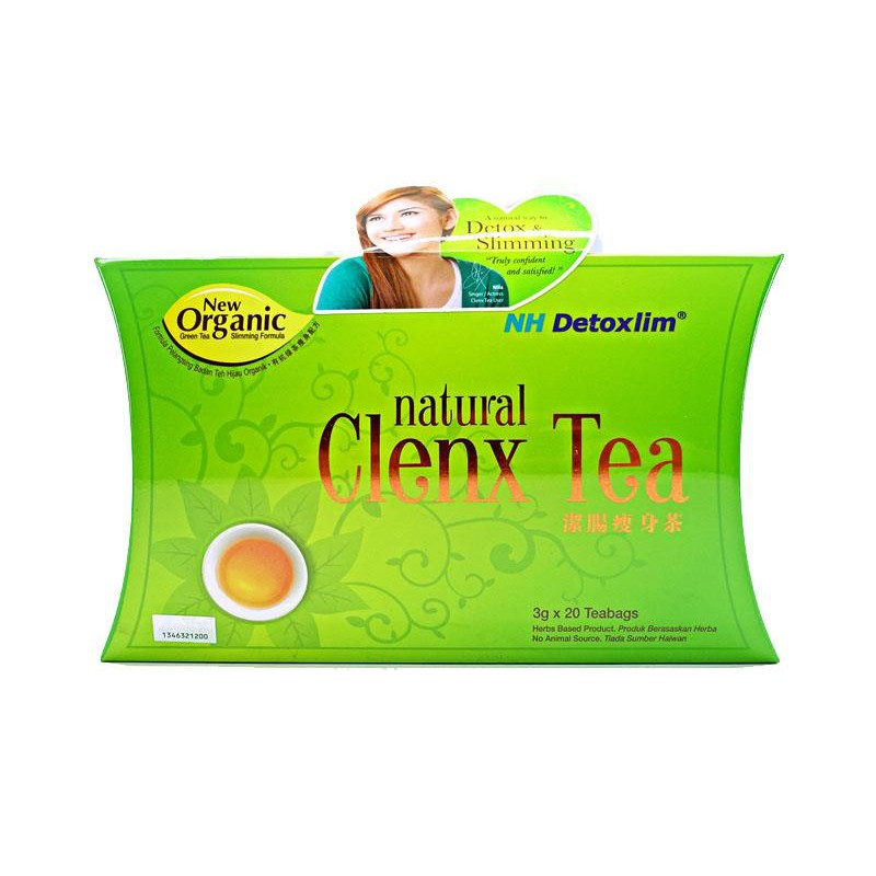 NH DETOXLIM NATURAL CLENX TEA 20S (Buang Lemak & Detox)