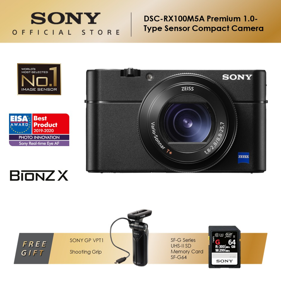 Sony DSC-RX100M5A The Premium 1.0-Type Sensor Compact Camera