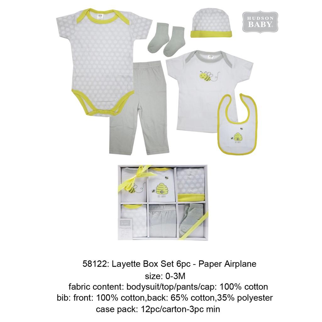 b888ad88e Hudson Baby  5pcs Layette Set - Sheep
