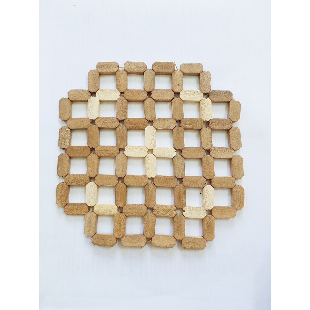 Bamboo Anti-Hot Mat Accessories Table Placemats Coaster Coffee Cups Drinks Heat Pad Kitchen Product Mug Pads