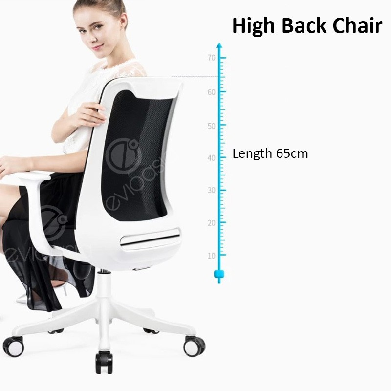 [SALE] Comfortable Colourful Adjustable Mid-Back Mesh Office Chair (Model MC113)