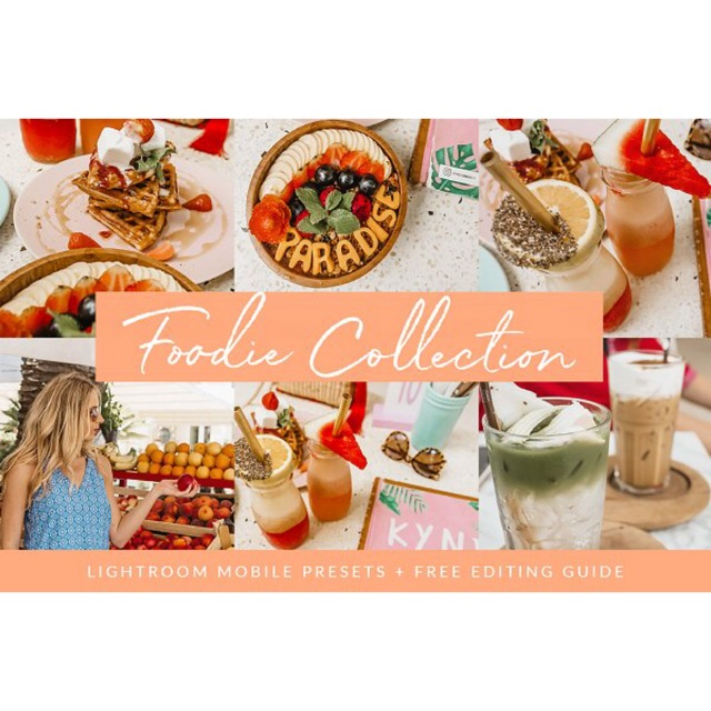 Foodie Collection Lightroom Mobile Presets