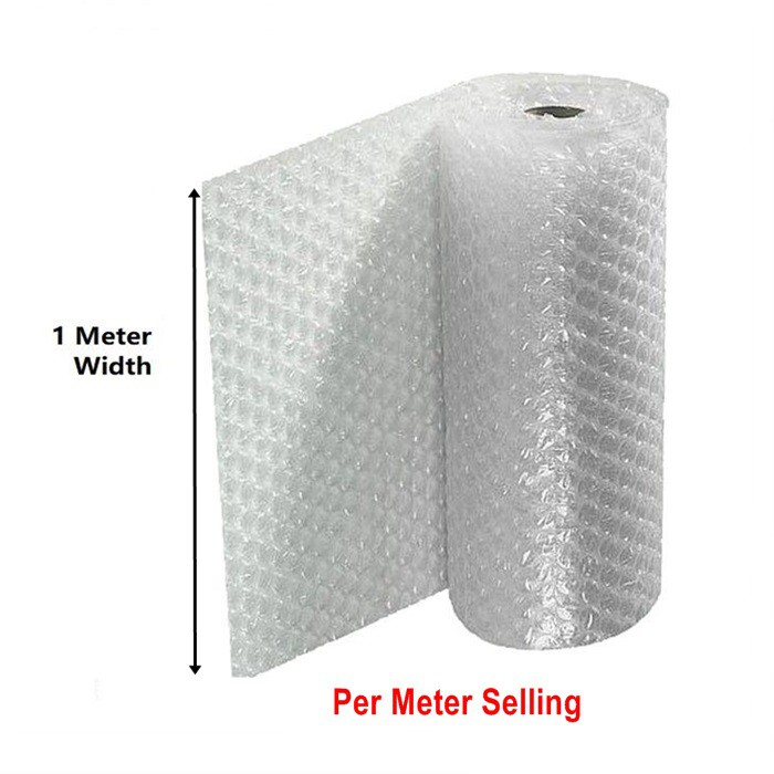 Bubble Wrap Single Layer 1 Meter * 1 Meter