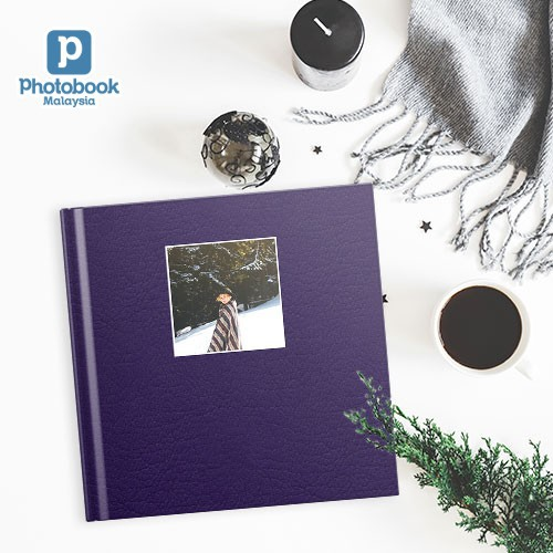 "8"" x 8"" Small Square Debossed Hardcover Photobook [e-Voucher] Photobook"