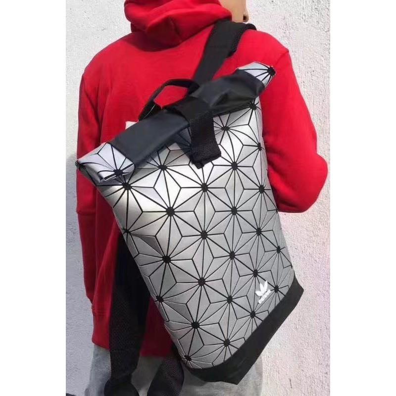 Limited Edition Adidas x Issey Miyake 3D Urban Mesh Roll Up Backpack Bag  pink  e06dd35b3ff89