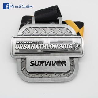 Custom wholesale marathon medals running medals | Shopee