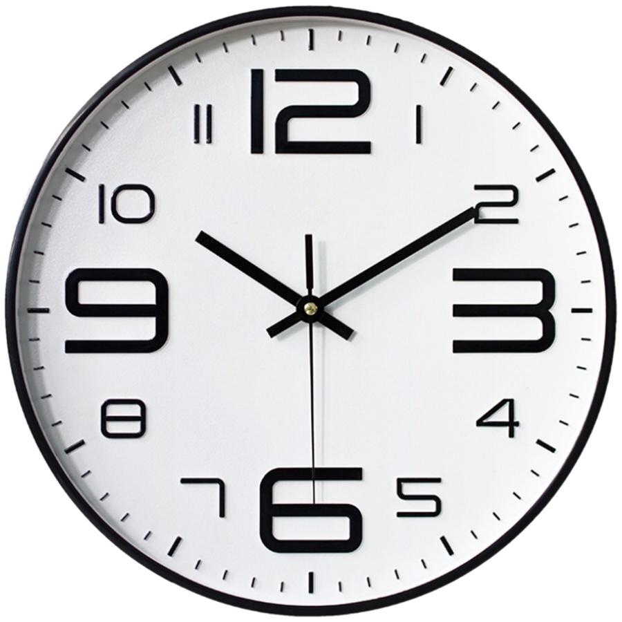 Modern Silent Non-Ticking Quartz Horloge Wall Clock Home Office Living Room / Jam Dinding