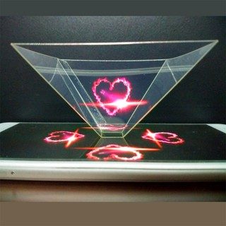 Gift Holographic Pyramid Display 3D Hologram 3D Holo Box