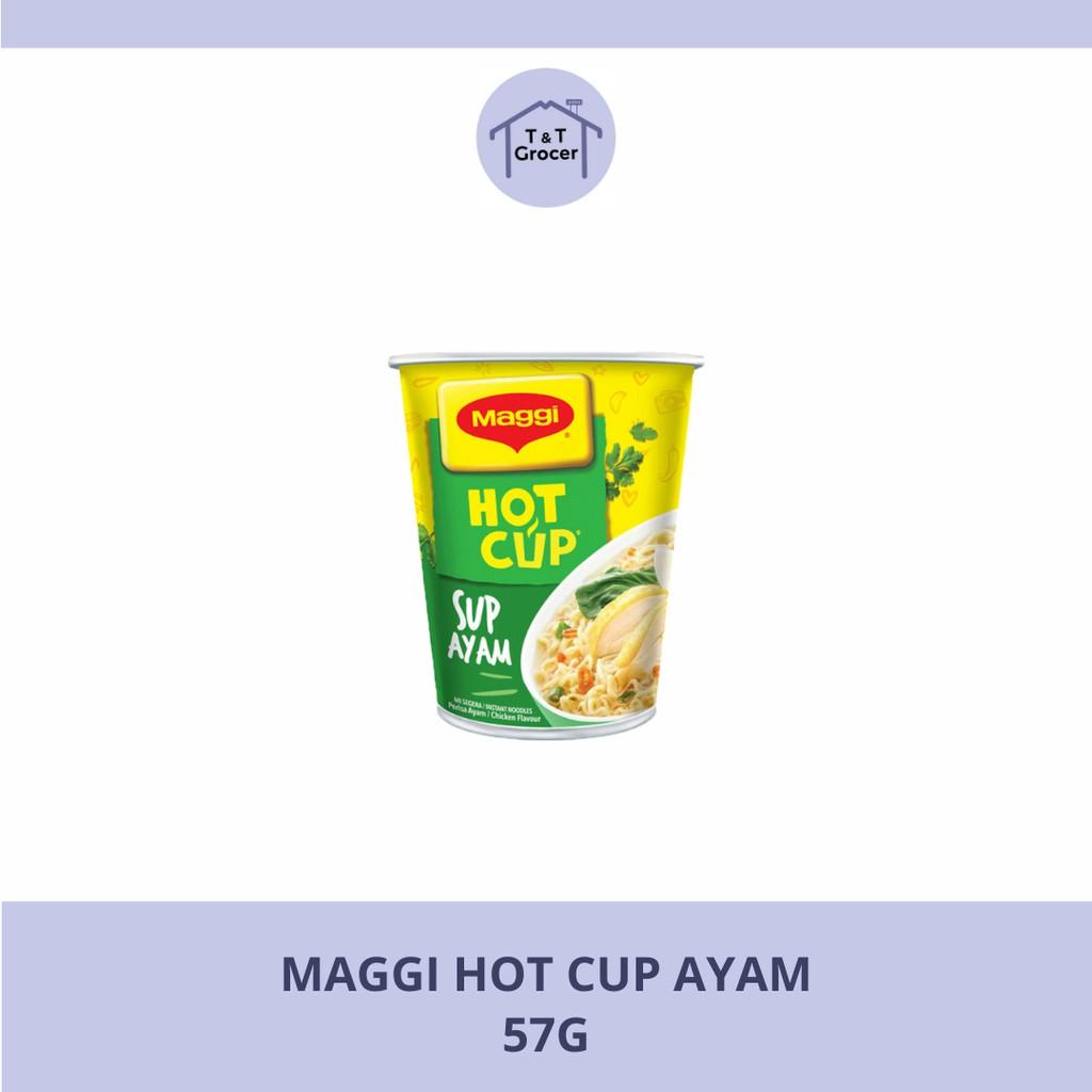 Maggi Hot Cup Ayam [57g]