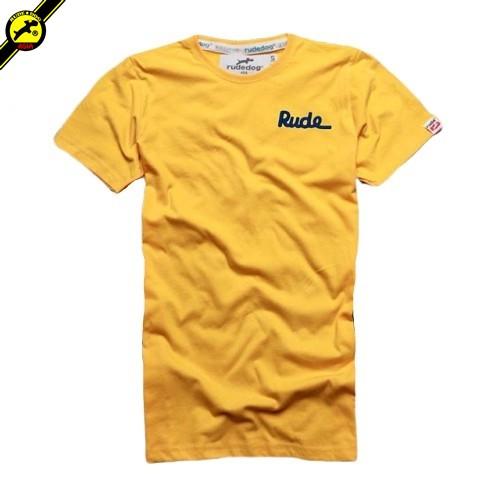 rudedog T-shirt เสื้อยืด รุ่น Only สีเหลือง (LIMITED EDI